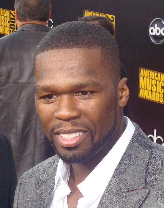 50 Cent: American rapper, television producer, actor, and businessman from New York
