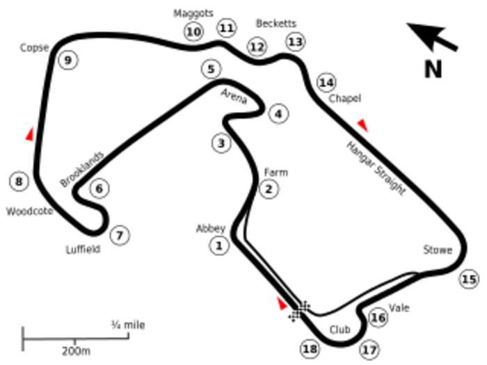 British Grand Prix: Auto race held in the United Kingdom