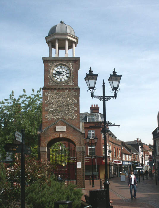 Chesham: Town in Buckinghamshire, England