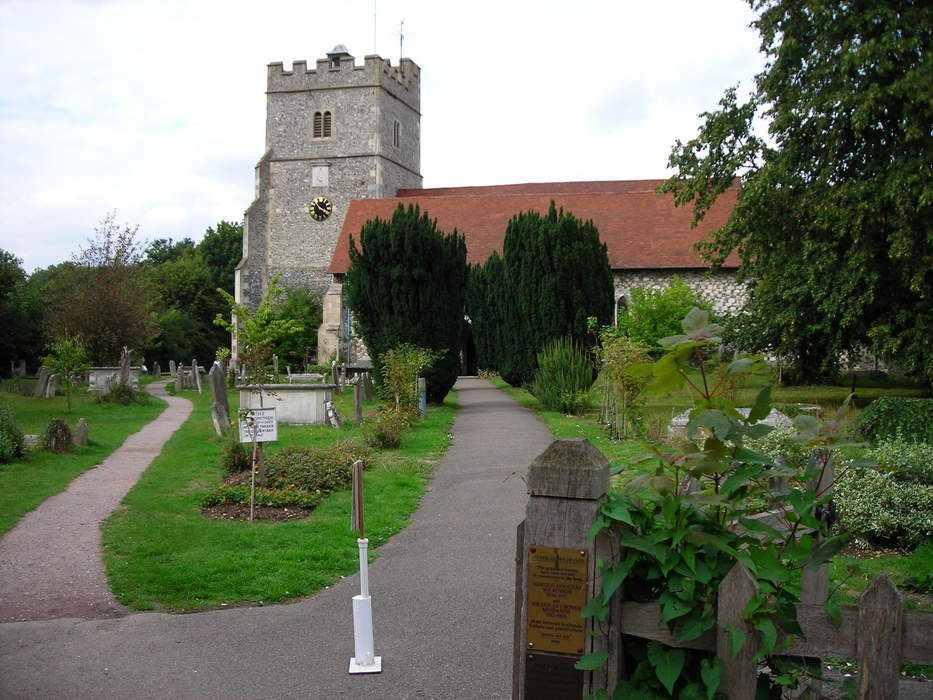 Cookham: Human settlement in England