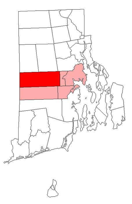 Coventry, Rhode Island: Town in Rhode Island, United States