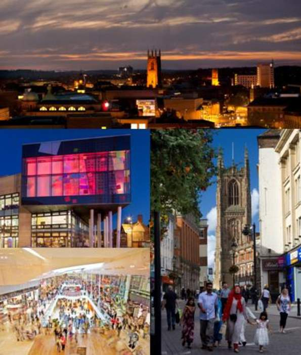 Derby: City and unitary authority area in England