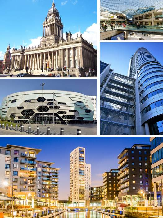 Leeds: City in West Yorkshire, England