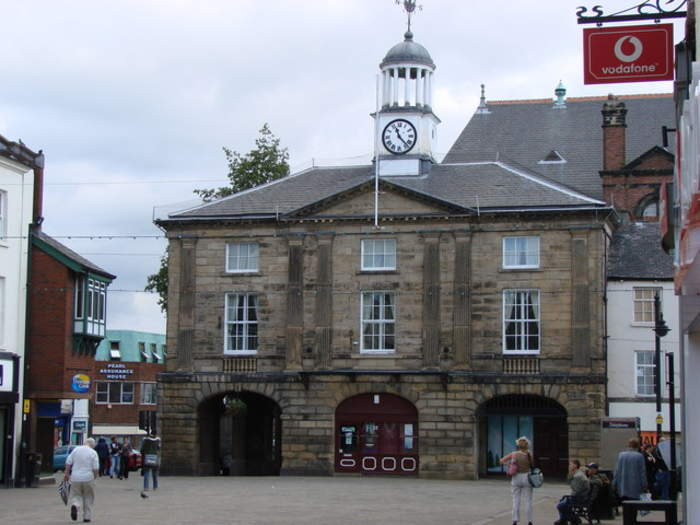 Pontefract: Market town in West Yorkshire, England