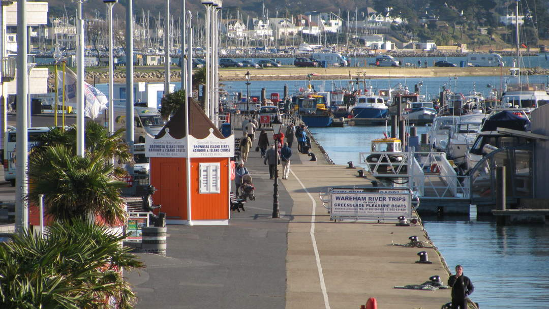 Poole: Town in England