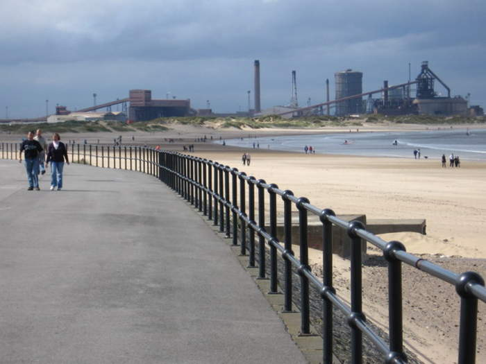 Redcar: Town in North Yorkshire, England