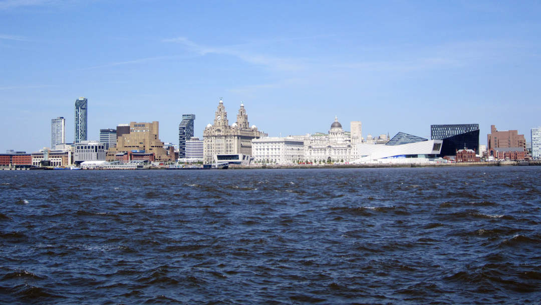 River Mersey: Major river emptying into Liverpool Bay