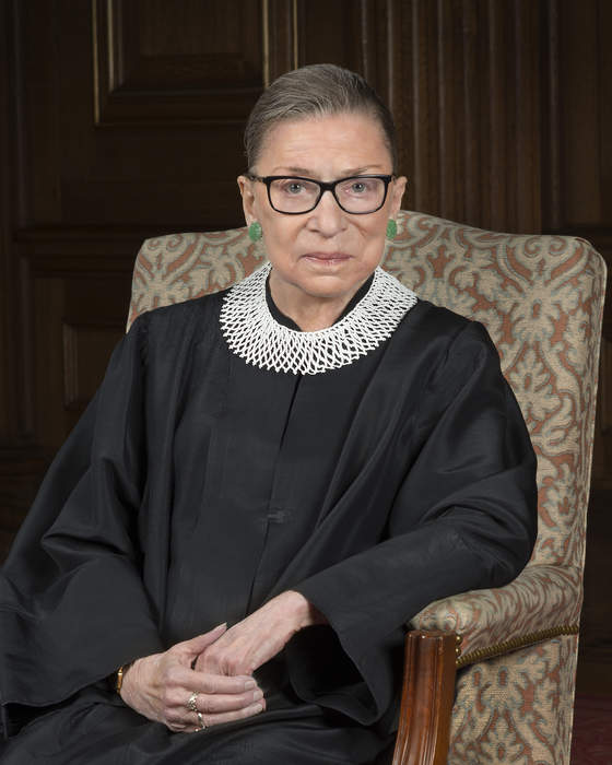 Ruth Bader Ginsburg: American lawyer and jurist