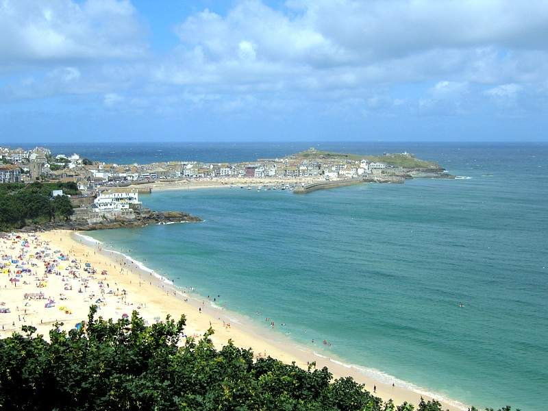 St Ives, Cornwall: Human settlement in England