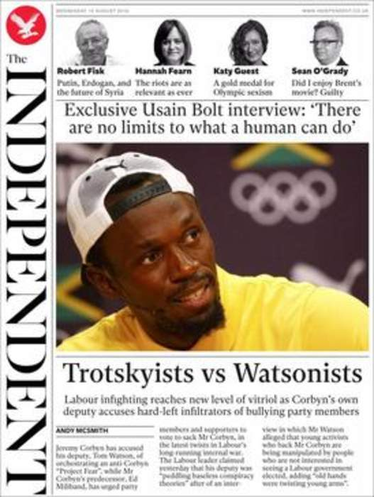 The Independent: British online daily newspaper